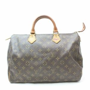 Auth Louis Vuitton Speedy 35 Bag #1029L16